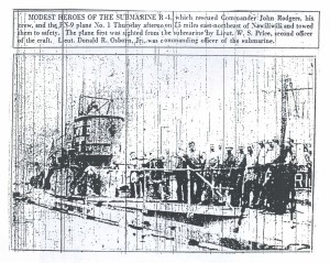 Modest Heroes of the Submarine R-4, 9-12-1925