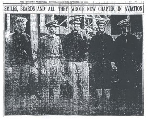 Smiles, Beards and All They Wrote New Chapter in Aviation, 9-12-1925