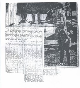 Rear Admiral Moffett Pays Visit to NAS Pearl Harbor 8-22-1925 page 2