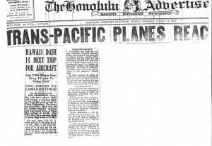 Trans-Pac Planes Reach SF, 8-24-1925