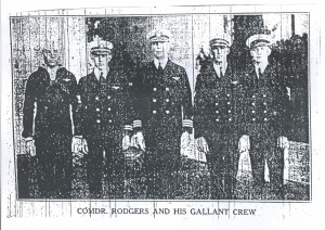 Commdr Rodgers and His Gallant Crew, 9-11-1925