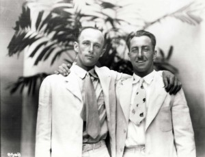 Dole Derby pilot Martin Jensen and navigator Paul Schluter finished second, August 17, 1927.