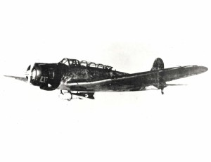 B5N2 aircraft from Japanese carrier Iryu that bombed Hickam Field and Pearl Harbor on December 7, 1941.