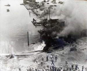 Kaneohe Naval Air Station, December 7, 1941.