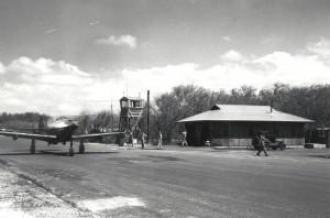 Historic photo of Haleiwa Field taken in 1943