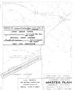 Master Plan of Kamuela Airport