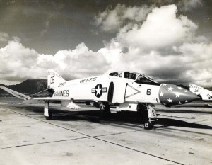 1960s photo of a UMFA 235 F-4 Death Angels aircraft