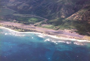 Overview of Dillingham Field taken in the 1990s