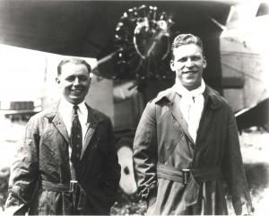 Historical photo of Lt Hegenberger & Lt Maitland