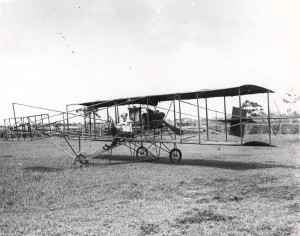 Photo of Didier Masson's early aircraft