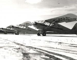 1939 Gambo Flying School aircraft