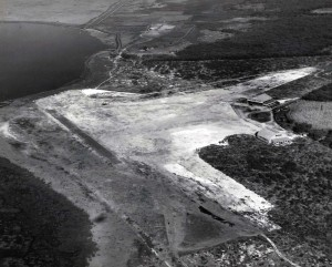 Aerial view of John Rodgers field 1928