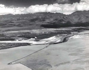 Aerial view of John Rodgers Airport 1929