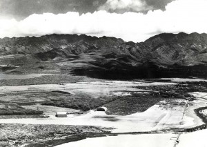 1932 aerial photo of John Rodgers Airport