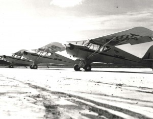 Photo of a Gambo Flying School aircraft in 1939