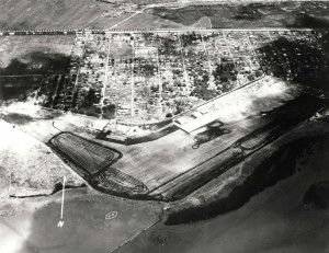 1941 aerial photo of John Rodgers Airport