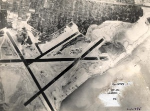 Aerial photo of John Rodgers Field from 1943