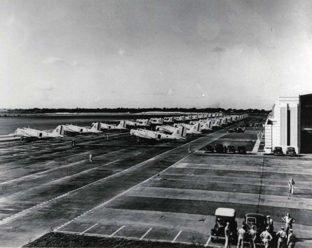 Pearl Harbor Oahu >> Hawaii Aviation | Hickam Field Photos 1937-1941