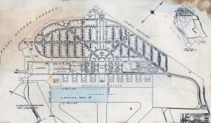 Hickam Field Map, 1937.