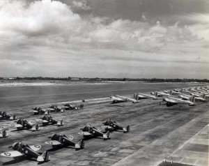 U.S. Army Air Corps Bombers at Hickam Field 1939