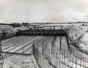 Runway construction at Hickam Field, 1940.