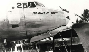 C-54 Island of Kauai, John Rodgers Airport, 1940s.