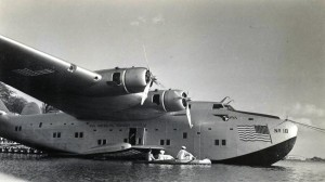 Pan American No. 18 at Keehi Lagoon Seadrome, 1940s.