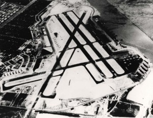 Naval Air Station Honolulu (John Rodgers Airport), April 1945.
