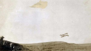 J. C. Bud Mars making first flight in Hawaii December 31, 1910 in Honolulu (Moanalua).