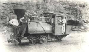 Late 1880s, Kilauea Railroad.