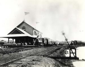 OR&L inauguration November 16, 1889