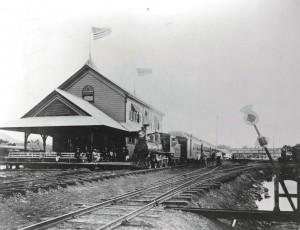 Oahu Railroad Station, 1890.
