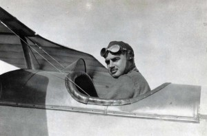 Maj. Sheldon H. Wheeler for whom Wheeler AFB is named. He was with the Dept. of Military Aeronautics, picture at Carlstrom Aviation Field, Arcadia, Florida on June 16, 1918.