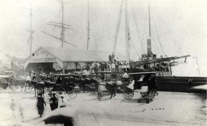 1890 Honolulu Harbor