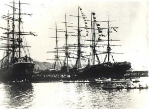 Honolulu Harbor 1900
