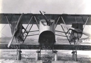 Martin GMB MB-1 with 37mm cannon in nose, June 1920.
