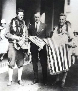Ernest Smith and Emory Bronte were treated like heroes after their July 15, 1927 flight. Smith later became an executive of Trans World Airways and Bronte joined the Navy and went on to command three naval air stations and an island in the Admiralty group before becoming an executive at C. Brewer and Company in Honolulu.