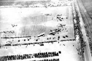 The start of the Dole Derby at Oakland Airport on August 16, 1927.
