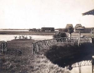Residence of S. J. Damon, Moanalua, OR&L Station.