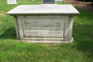 Commander John Rodgers died on August 27, 1926. He is buried in Arlington National Cemetery.