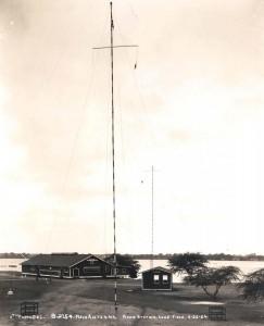 Main antenna radio station at Luke Field, June 26, 1924.