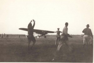 Lts. Lester Maitland and Albert Hegenberger flew at an altitude of 300 feet during the day on their Oakland-Honolulu route. Their compass failed in the first hour. Navigation was by dead reckoning and solar observations. By evening they climbed to 10,200 feet to get over the clouds for navigation.