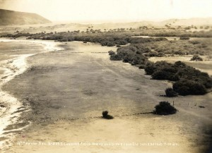 Niihau landing strip, July 10, 1924.