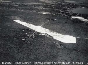 Hilo Airport, Hawaii, June 25, 1929.