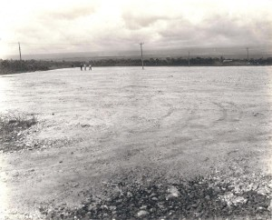 North end of Hilo airfield, August 1927.