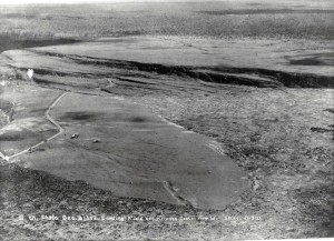 Landing Field Kilauea Crater, Hawaii, November 3, 1923.