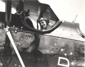 Lt. Col. Horace M. Hickam in charge of flying for the International Air Races, 1920s. Hickam Field was later named for him.