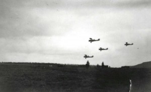 4th Squadron (Observation) Flying Field, Schofield Barracks, March 25, 1922.