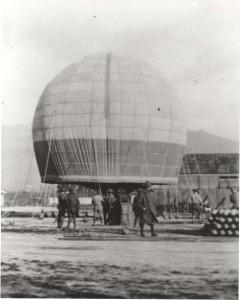 Observation Balloons at Fort Kamehameha, c1920-1924.