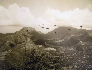 1930s Formation Over Oahu 03